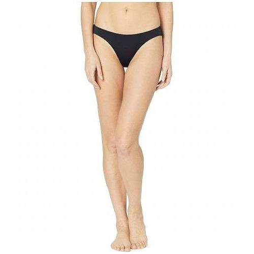 Roxy ロキシー レディース 女性用 スポーツ・アウトドア用品 水着 Solid Beach Classics Regular High Leg Bottoms - True 黒