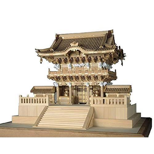 ウッディジョー 1/50 日光東照宮 陽明門 木製模型 組立キット