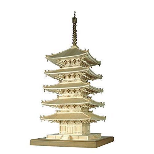 ウッディジョー 1/75 興福寺 五重塔 木製模型 組立キット