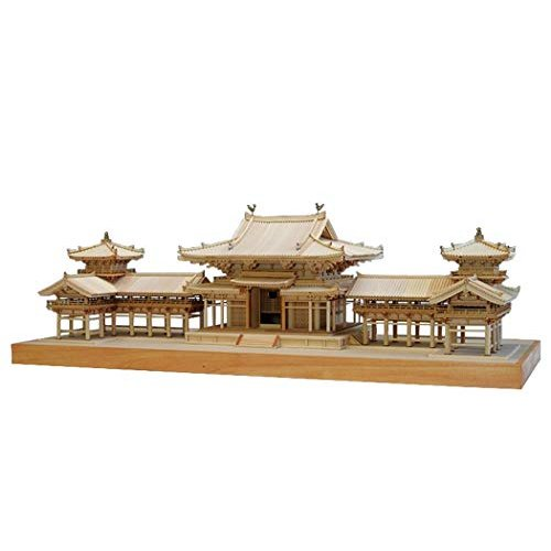 ウッディジョー 1/75 平等院 鳳凰堂 木製模型 組み立てキット