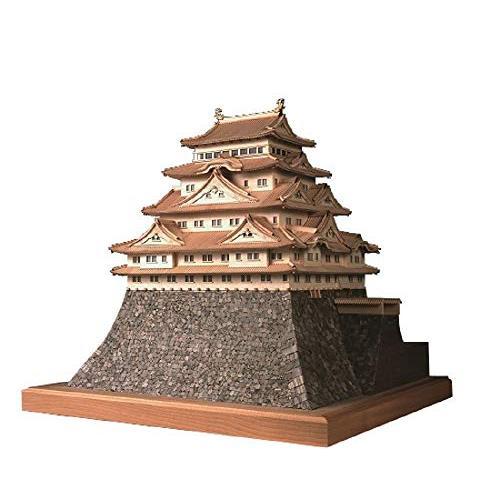ウッディジョー 1/150 名古屋城 木製模型 組立キット