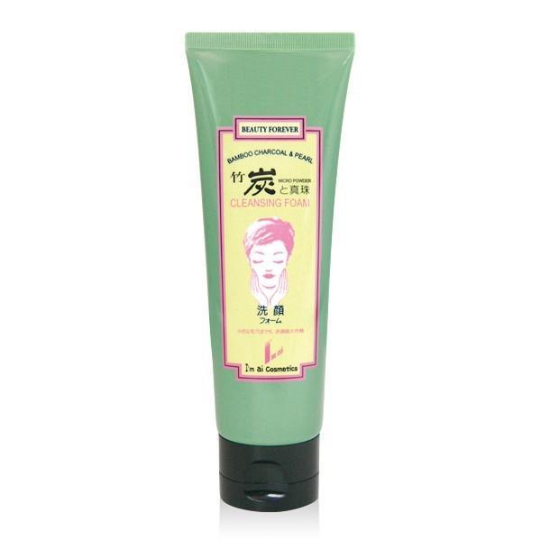 竹炭と真珠洗顔フォーム(120g) imai-cosmetics