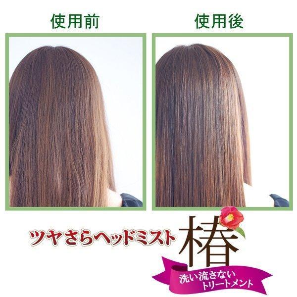 【ツバキ油 天然エキス20種類配合】 ツヤさらヘッドミスト 200ml 洗い流さないトリートメント 髪の美容液 オーガニック スタイリング ダメージヘア|imai-cosmetics|03