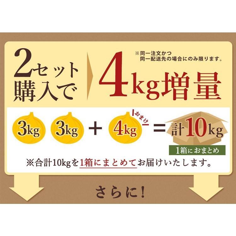 【送料無料】淡路島新玉ねぎ 3キロ[Sサイズ〜2Lサイズお任せ]#訳ありたまねぎ3kg【購入特典】# imaifarm 07