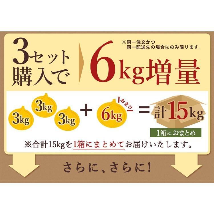 【送料無料】淡路島新玉ねぎ 3キロ[Sサイズ〜2Lサイズお任せ]#訳ありたまねぎ3kg【購入特典】# imaifarm 08