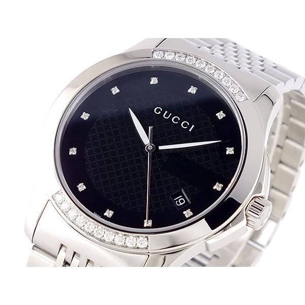 全日本送料無料 グッチ GUCCI 腕時計 Gタイムレス 腕時計 GUCCI YA126408 YA126408 ブラック, 日南町:ba5b9818 --- airmodconsu.dominiotemporario.com