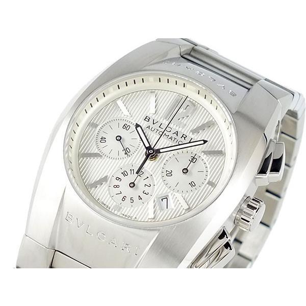 【T-ポイント5倍】 ブルガリ BVLGARI クロノグラフ 自動巻き 腕時計 腕時計 EG35C6SSDCH BVLGARI ホワイト ホワイト, ナミカタチョウ:7db8b656 --- airmodconsu.dominiotemporario.com