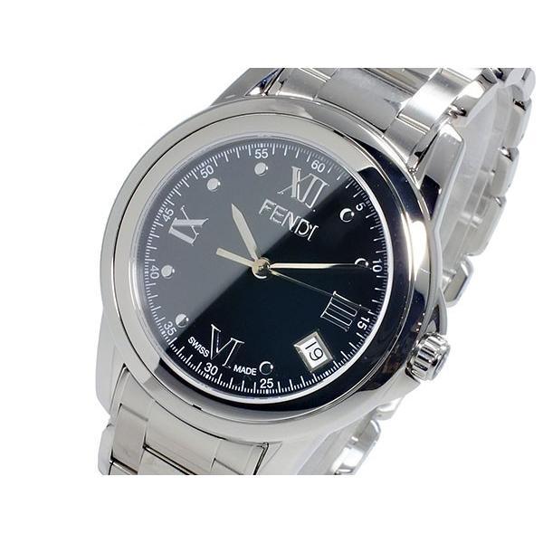 結婚祝い フェンディ FENDI ラウンド ループ ROUND LOOP クオーツ レディース 腕時計 F235310 ブラック, ラブリーコンタクト c78668e3