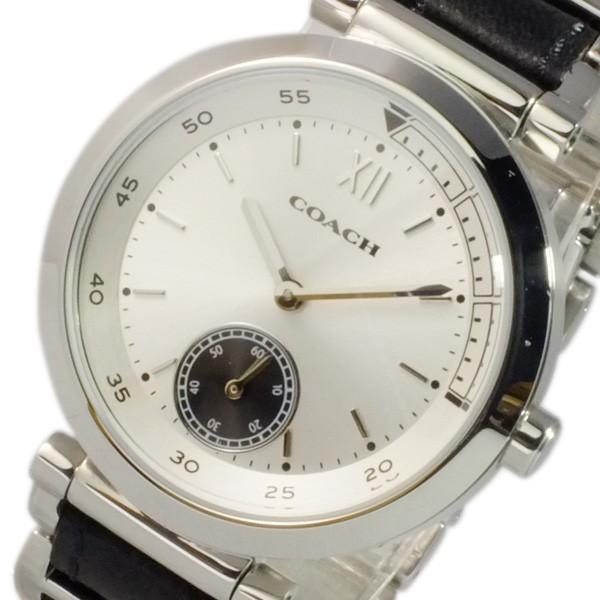 『2年保証』 コーチ COACH スポーツ クオーツ レディース 腕時計 14502033 シルバー, 器の大和屋 d5577291