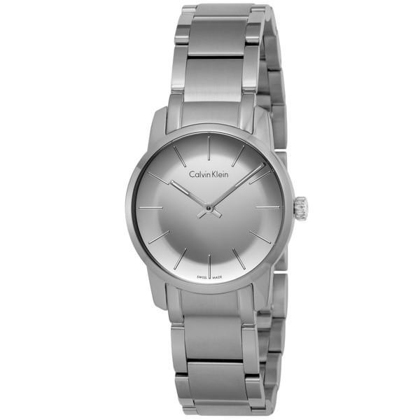 【正規通販】 カルバン クライン シルバー Calvin Klein レディース シティ クオーツ レディース 腕時計 腕時計 K2G231.48 シルバー シルバー, ルネデュー:946d14b4 --- airmodconsu.dominiotemporario.com