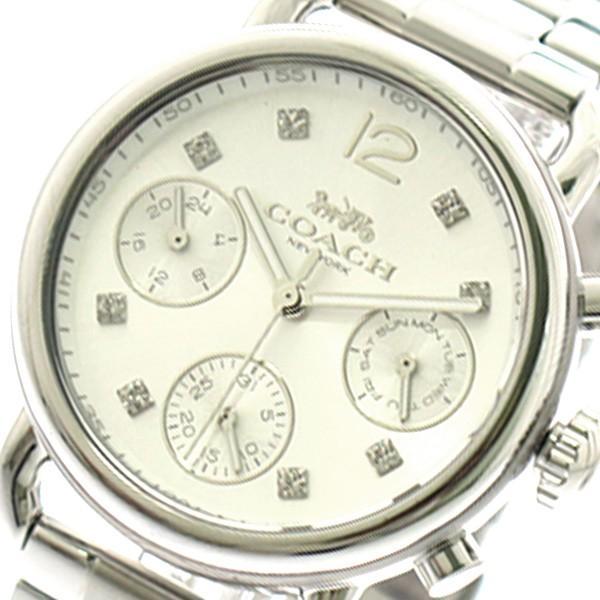 安いそれに目立つ コーチ COACH 腕時計 レディース 14502942 クォーツ シルバー シルバー, いいものいっぱい!マザーリーフ 4bc22578