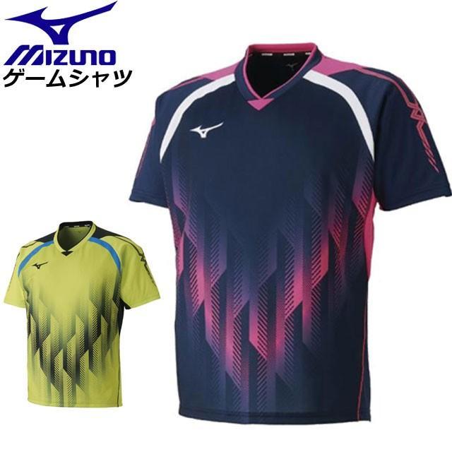 ミズノ 卓球 ウエア ゲームシャツ(卓球) MIZUNO 82JA8501 ユニフォーム 男女兼用