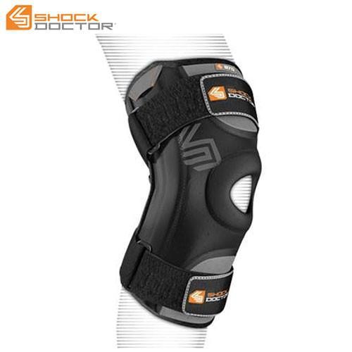 ショックドクター サポーター ユニセックス メンズ レディース ニースタビライザー L ブラック ヒザ 膝 サポート カバー ガード プロテクター ボ