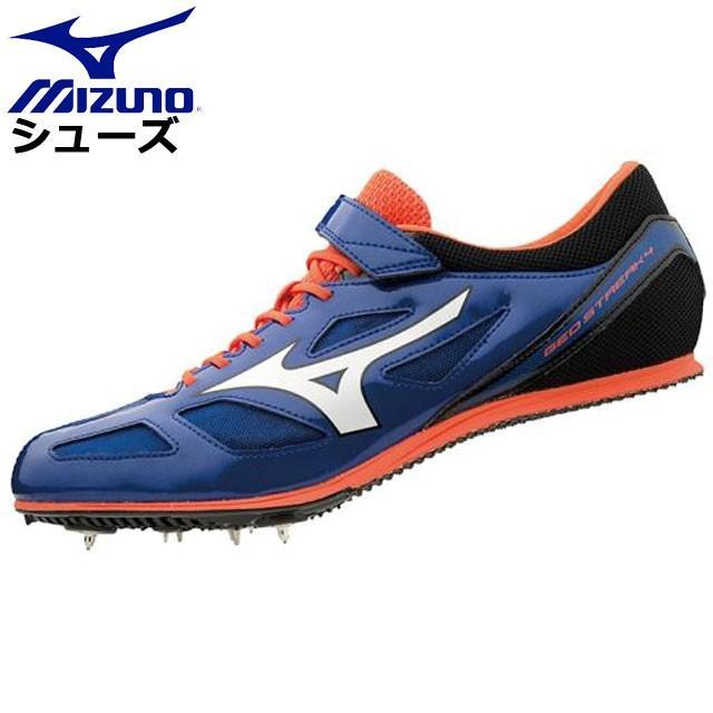 2019超人気 ミズノ 陸上競技 ジオストリーク4 MIZUNO U1GA1913 シューズ 靴 中距離モデル 中距離用 スピード設計 ユニセックス, ろーぐす 20cb4318