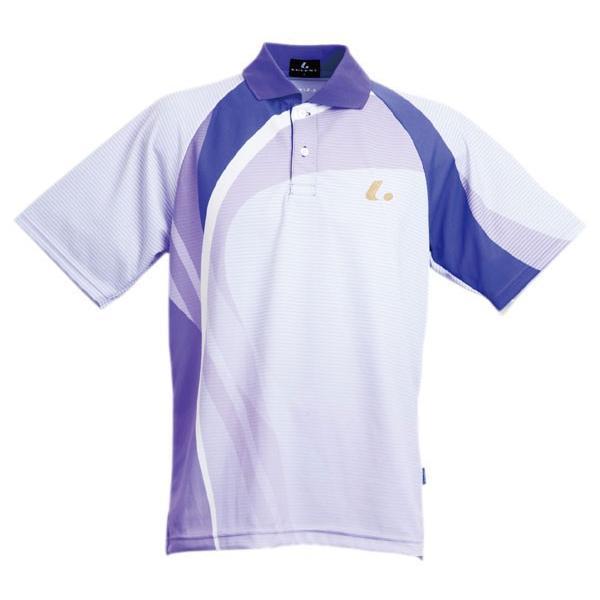 LUCENT ルーセント テニスウエア XLP7738 Uni ゲームシャツ パープル ユニセックス