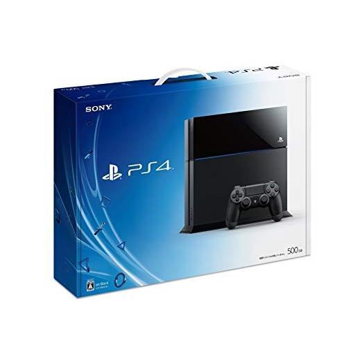 (中古)PS4 本体 Playstaytion4chu1000abジェット・ブラック お取り寄せ品 送料無料
