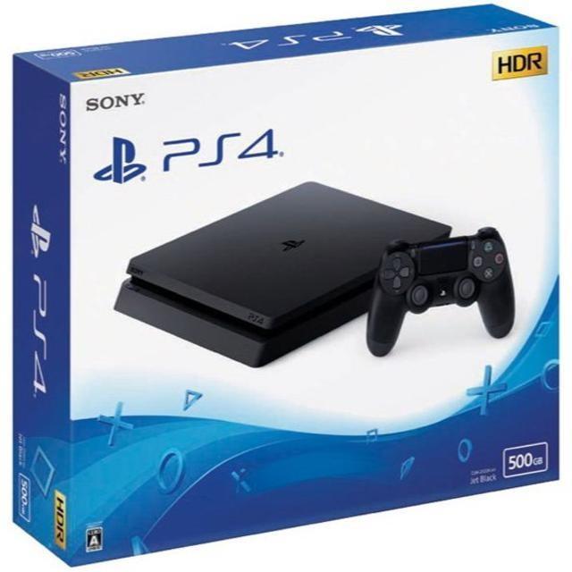 PlayStaytion4CHU2200abジェット・ブラック500GB