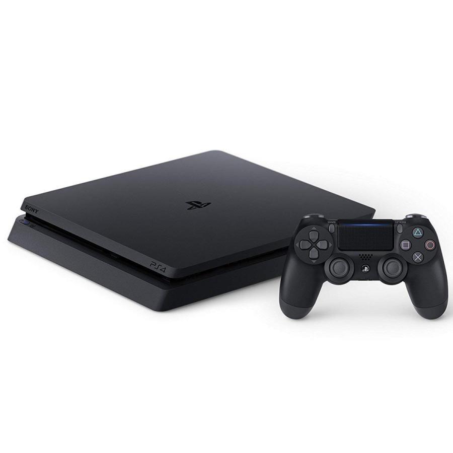 (中古)PS4 本体 PlayStation 4 ジェット・ブラック 1TB(CUH-2200BB01) お取り寄せ品 送料無料