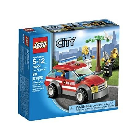 LEGO City Fire Chief Car (60001)|import-goods-online