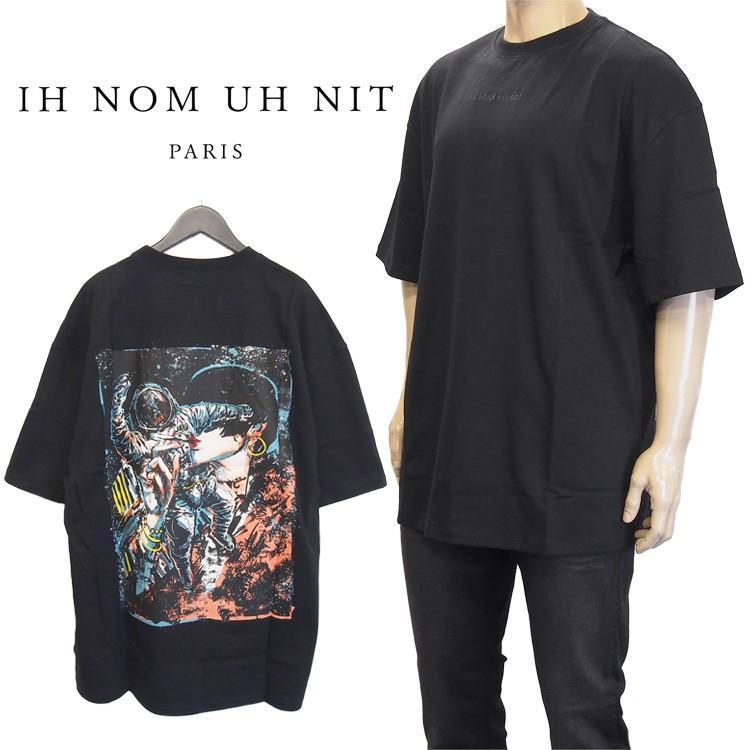 【在庫あり】 インノミネイト IH NOM UH NIT IH Tシャツ 半袖 メンズ NIT ブラック ブラック NMS19210-009, あかりタウン:b6b72002 --- sonpurmela.online