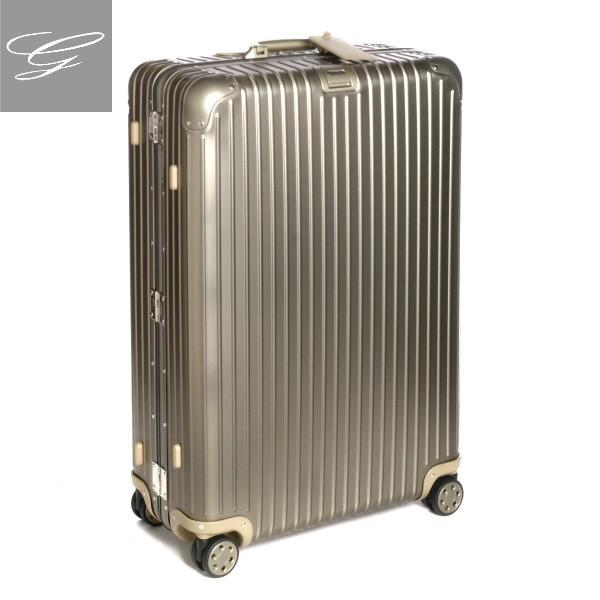 リモワ スーツケース RIMOWA キャリーバッグ TOPAS TITANIUM シャンパンゴールド 98L 92477034-0002-0014