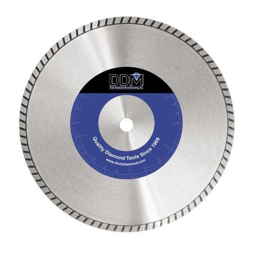Dixie ダイアモンド Manufacturing 14TURBO Turbo ブレード Budget Grade for Dry/Wet カッティング, 14