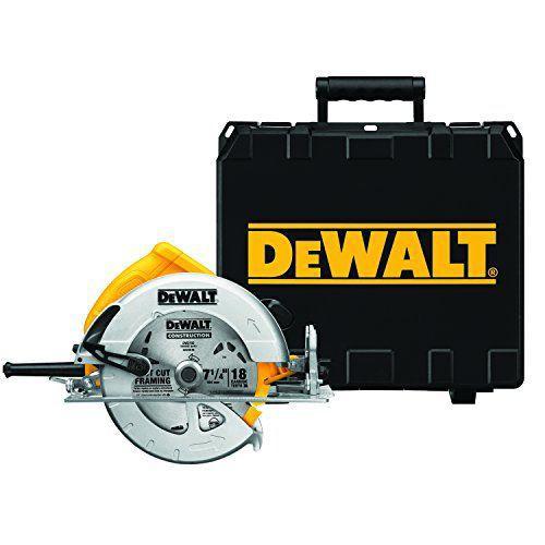 DEWALT(デウォルト) DWE575K 7 1/4インチ 軽量 サーキュラーソーキット