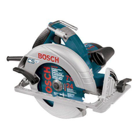 "Bosch(ボッシュ) 7-1/4"" Circular ソーw/ Anti-Snag Guard & Footplate"