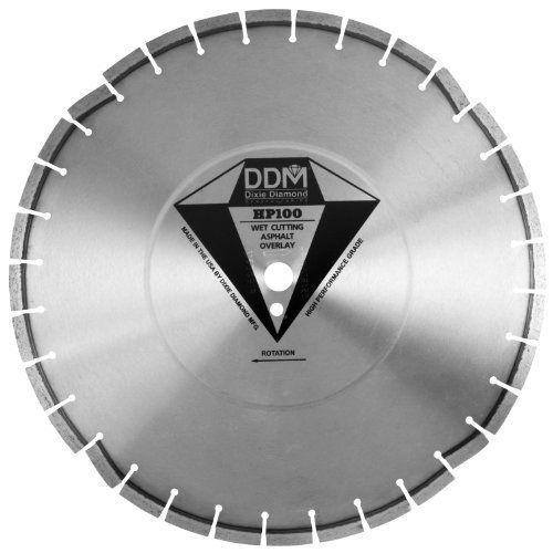 Dixie ダイアモンド Manufacturing HP10020140 アスファルト Overlay プレミアム Grade for Wet カッティ