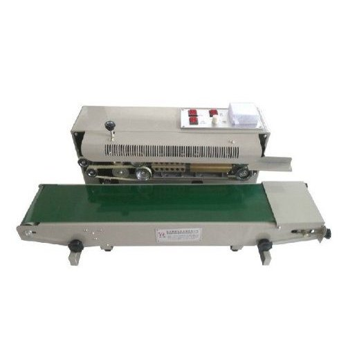 Automatic 水平 Continuous Plastic Bag Band Sealing Sealer マシーン FR900