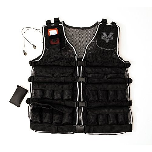 国内初の直営店 Valeo 20-Pound Weighted Vest Pound With Removable 1 1 Pound Packs Pounds, For Adjustments From 1 to 20 Pounds, VA4480BK【並行輸入品】, ハシカミチョウ:200bbc24 --- airmodconsu.dominiotemporario.com