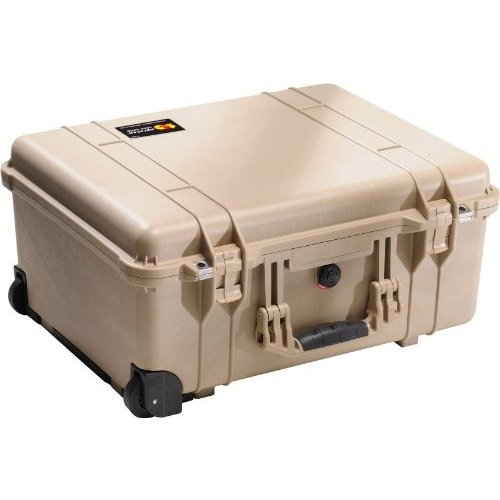 【正規販売店】 Pelican 1560 Camera Case Pelican With Case Foam (Desert 1560 Tan) 並行輸入品, やまなしけん:351237f2 --- viewmap.org