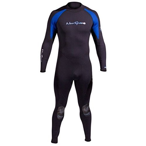 人気商品 NeoSport Wetsuits Men's XSPAN 7mm Full Jumpsuit, Blue Trim, Large - Diving, Snorkeling & Wakeboarding 並行輸入品, 爆安!家電のでん太郎 4f9419d9