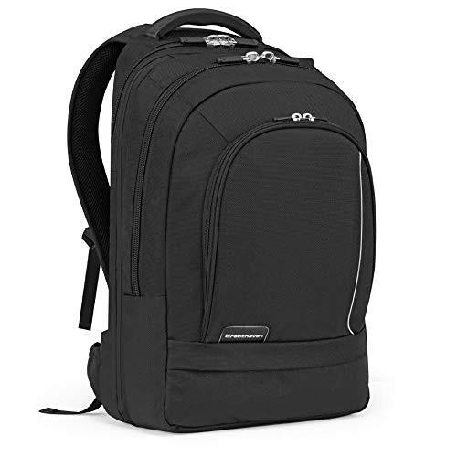 春夏新作 Brenthaven ProStyle Travel Backpack from Fits 17 Inch Chromebooks, Laptops, Impact Rugged Airport TSA Friendly ? Black, Durable, Rugged Protection from Impact and Comp, 定番 :92c8e0c9 --- graanic.com