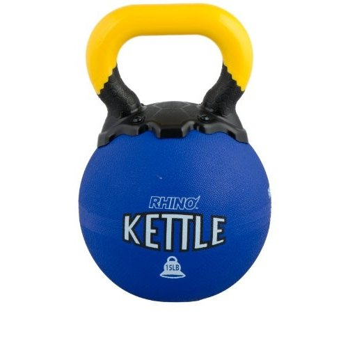 【お買得!】 Champion Champion Sports Rhino Kettle Bell Bell Weights, Sports 15-Pound【並行輸入品】, ワカサチョウ:fd82bef0 --- airmodconsu.dominiotemporario.com