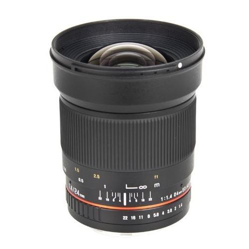 高級素材使用ブランド Bower Ultra-Fast Wide-Angle 24mm 24mm (OLD Focus 1.4 Lens 1.4 for Canon EOS (SLY2414C) (OLD MODEL)【並行輸入品】, 大島村:88e16400 --- grafis.com.tr