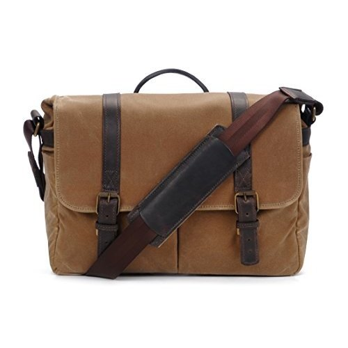直営店に限定 ONA - Canvas The Brixton Camera - Camera Bag Messenger Bag - Field Tan Waxed Canvas (ONA5-013RT) 並行輸入品, hana online-shop:866b38c9 --- viewmap.org