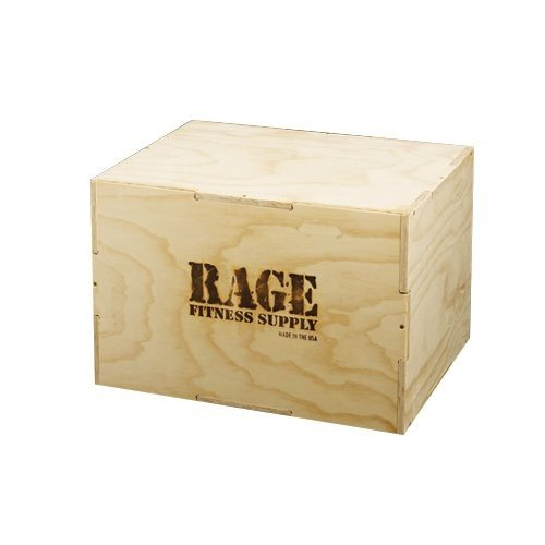 特別オファー Rage Fitness 3 in 1 Wood Plyo Box 20