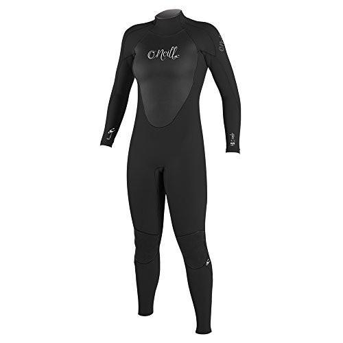 新発売 O'Neill Women's Epic 3/2mm Back Zip Full Wetsuit, Black/Black/Black, 6 並行輸入品, ヤマナカフーズ 8226a6eb