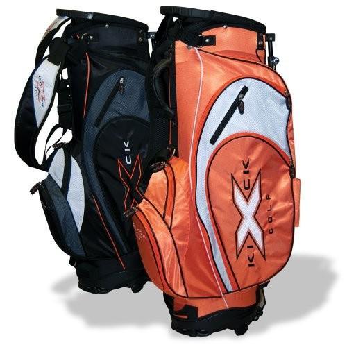数量は多 KICK-X GOLF Xlite Golf Stand Bag, Black【並行輸入品】, 七宝町 942127bf