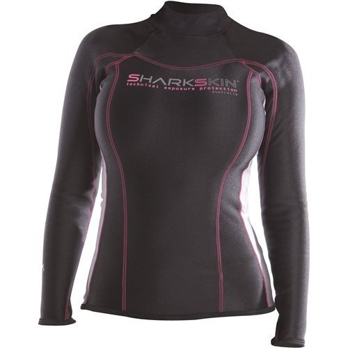 【国内配送】 Sharkskin Ladies Chillproof Long Sleeve Shirt Wetsuit (00) 並行輸入品, 韓国食品辛国のキムチ物語 977a8289