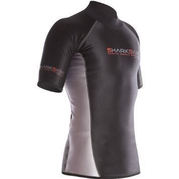上品 Sharkskin Sharkskin Mens Chillproof Short Size Sleeve Shirt Wetsuit, Wetsuit, Size 3XLG 並行輸入品, SORA:c303cdbd --- airmodconsu.dominiotemporario.com