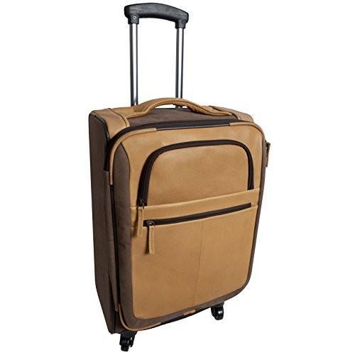 憧れの Canyon Outback Leather Goods, Inc. Switzer Canyon 22-inch Spinner Carry-on Upright Suitcase, Brown【並行輸入品】, バリュー家具【ゆとり生活研究所】 b65a6dcf