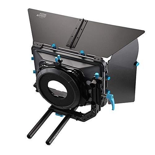 人気ブラドン Fotga DP3000 R M3 4x4 Swing-Away 15mm II Matte Box for 15mm Rail Rod Follow Focus Rig Canon EOS R EOS-1D X Mark II 5D II III IV 5DS R 6D 7D II Nikon D3500 Z6 Z7, 【日本限定モデル】:a6b92af3 --- grafis.com.tr