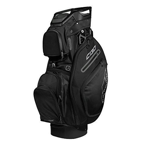 【2018?新作】 Sun Mountain Golf 2018 C-130 Cart Bag Black (Black)【並行輸入品】, モダンインテリア Picchio 273d335d