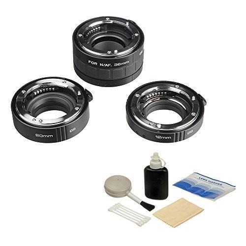 驚きの価格が実現! Kenko Auto Extension for 20 Tube Set DG Brand (12, 20 & 36mm Tubes) for Nikon Digital and Film Cameras with General Brand Lens Cleaning Kit【並行輸入品】, 遠藤食品:31fc32f0 --- grafis.com.tr