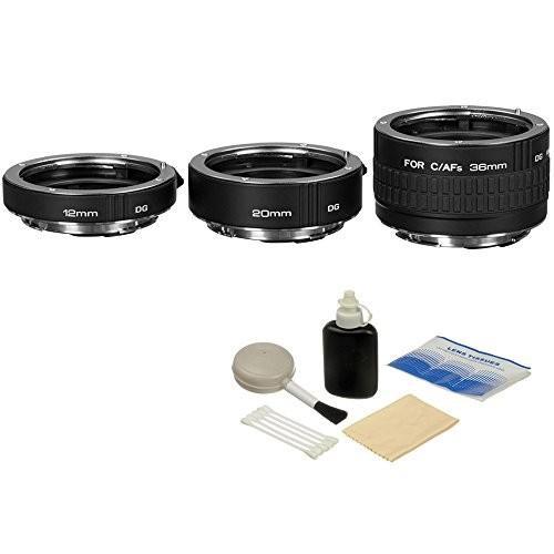 【待望★】 Kenko DG Brand Auto Extension Tube Set Cleaning DG for Canon EOS Lenses with General Brand Lens Cleaning Kit【並行輸入品】, ステッカーグッズの-わんDAYペット:31338be3 --- grafis.com.tr