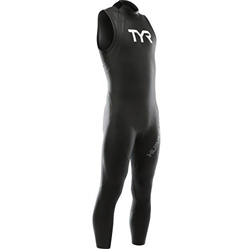 2019人気新作 TYR Sport Men's Hurricane Sleeveless Wetsuit Category 1, Wetsuit Black/White, 1, Black/White, X-Large 並行輸入品, 値段が激安:68958c69 --- airmodconsu.dominiotemporario.com
