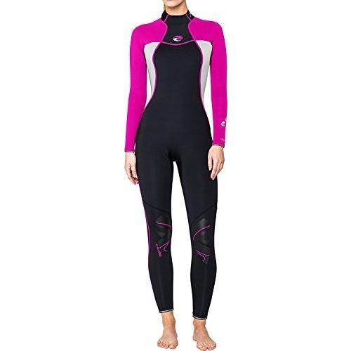 世界有名な Bare 3/2mm Nixie Women's Fullsuit (14, Pink) 並行輸入品, clovershop a06bd124