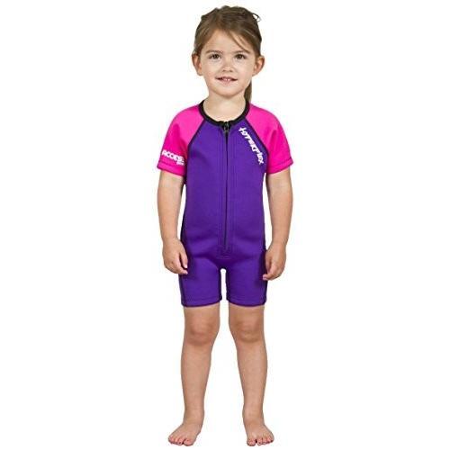若者の大愛商品 Hyperflex Access Front Zip Springsuit with 2mm Thickness, 1, Purple 並行輸入品, ナチュラルウェルネス ee84725c